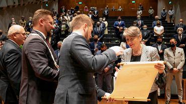 Joanna Wnuk-Nazarowa, wieloletnia dyrektorka NOSPR, została Honorową Obywatelką Katowic