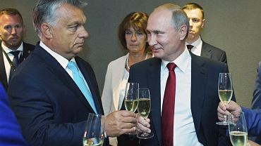 Viktor Orban i Wladimir Putin