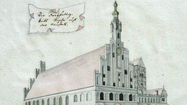 Kościół ewangelicki św. Trójcy na Rynku Nowomiejskim - dawny ratusz Nowego Miasta Torunia (po 1787 r.)