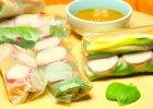 Lekkie spring rollsy - chrupiące warzywa w papierze ryżowym