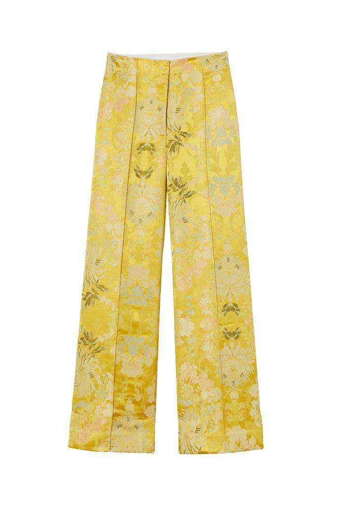 Satynowe spodnie H&M Conscious Exclusive AW 2020