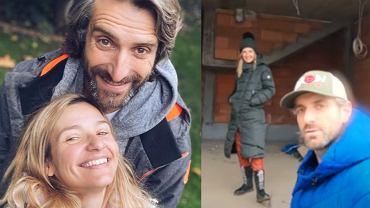 Joanna Koroniewska i Maciej Dowbor w nowym domu