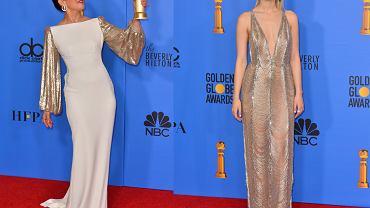 Sandra Oh i Saoirse Ronan na rozdaniu Złotych Globów 2019