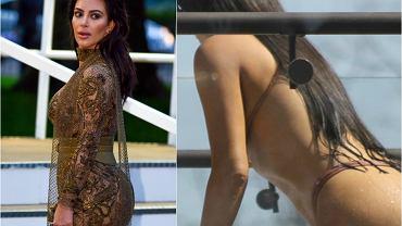 Kim Kardashian dawniej i dziś