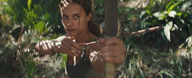 Tomb Raider - First Trailer (2018) Alicia Vikander