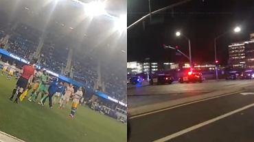 Kibic Cruz Azul uderzył piłkarza San Jose Earthquakes