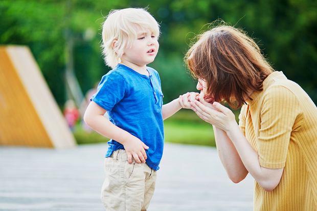 Kiedy dziecko narzeka na ból