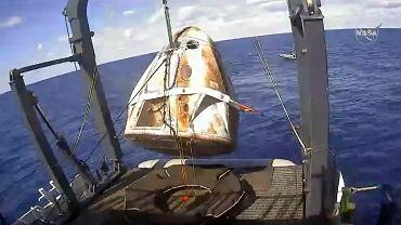 Kapsuła SpaceX Crew Dragon wylądowała w Atlantyku w pobiżu Florydy