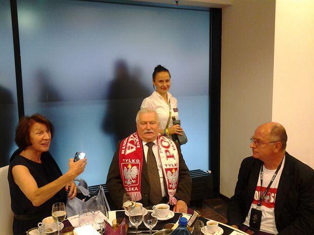 Zdjęcie numer 7 w galerii - Lech Wałęsa robi zdjęcia podczas meczów. Zobaczcie co udało mu się sfotografować...