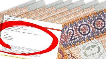 Uwaga na fałszywe e-maile o udzielonym kredycie
