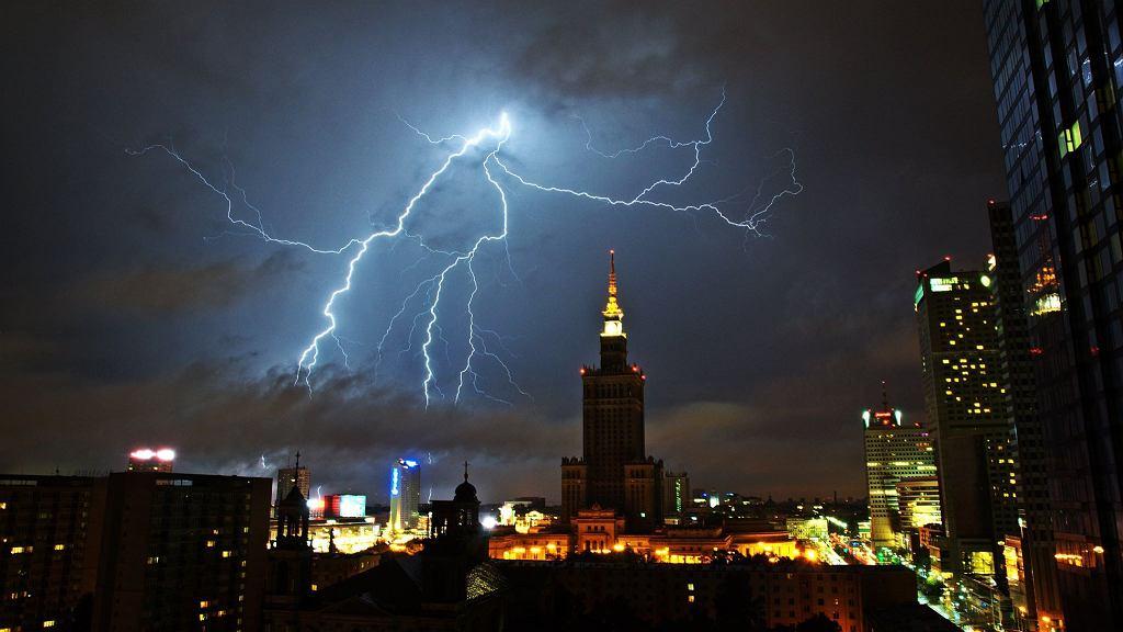 Pogoda w Warszawie