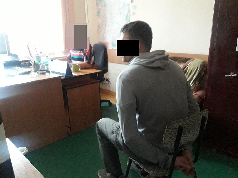 Policja zatrzymała 37-letniego nożownika.