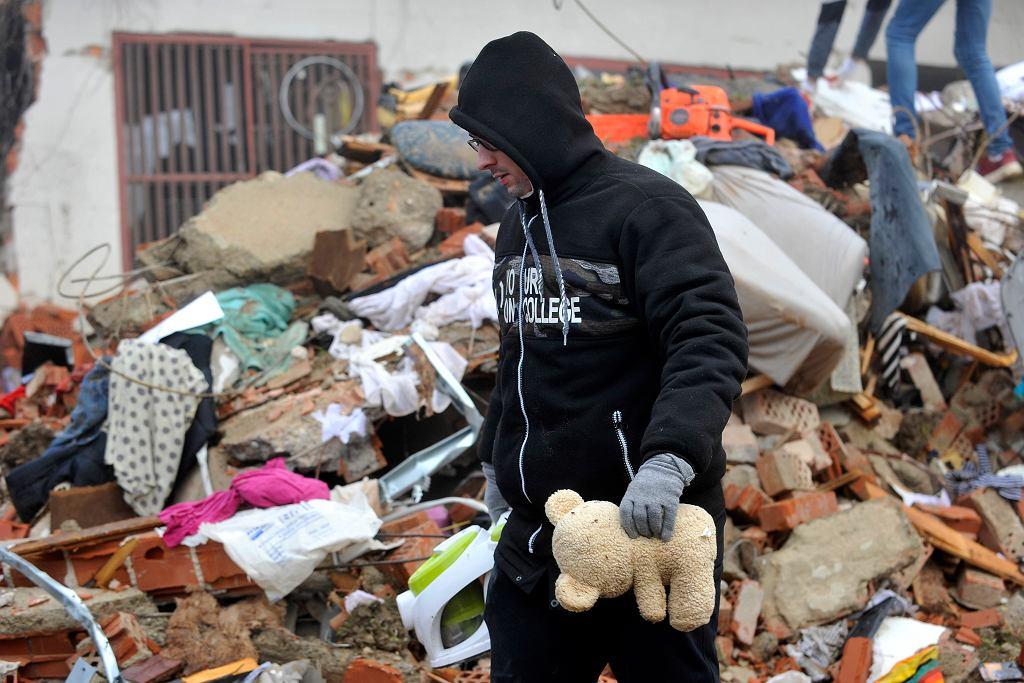 Zniszczenia po trzęsieniu ziemi w Chorwacji