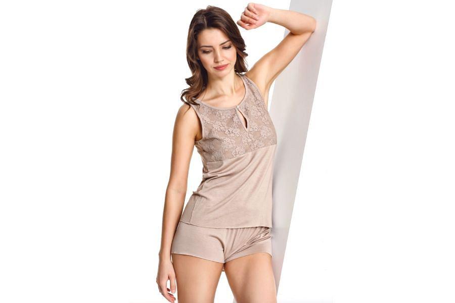 Piżama z włókna bambusowego Softcotton Camilla