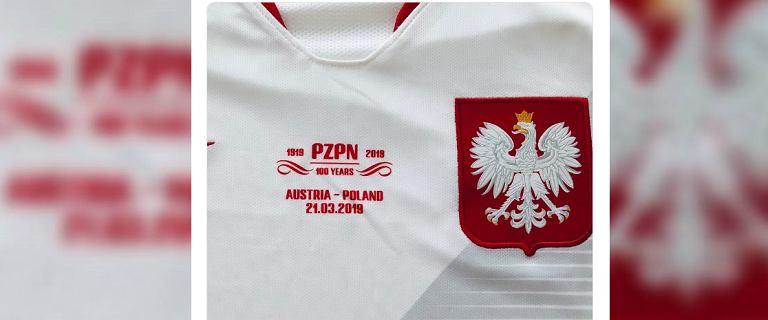 Austria - Polska: Eliminacje ME 2020. Polacy założą na mecz specjalne koszulki z okazji 100-lecia PZPN