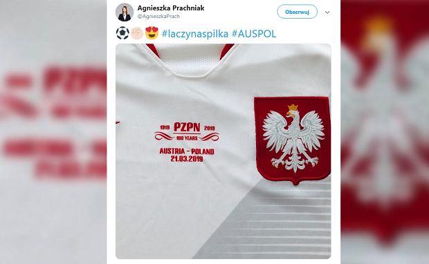 c2796dce68efdc Austria - Polska: Eliminacje ME 2020. Polacy założą na mecz specjalne  koszulki z okazji