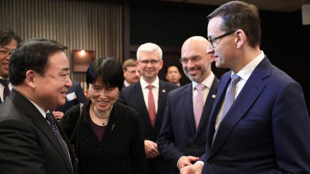 Premier Mateusz Morawiecki rozmawiał w Japonii ws. rozwoju energetyki jądrowej