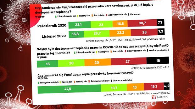 Koniec 2020 roku nie zwiastował tego, że Polacy przekonają się do akcji szczepień przeciwko koronawirusowi