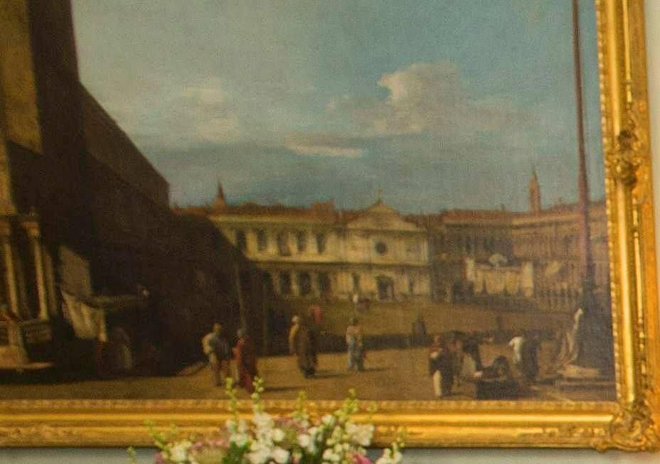 Fragment apartamentu królowej Elżbiety