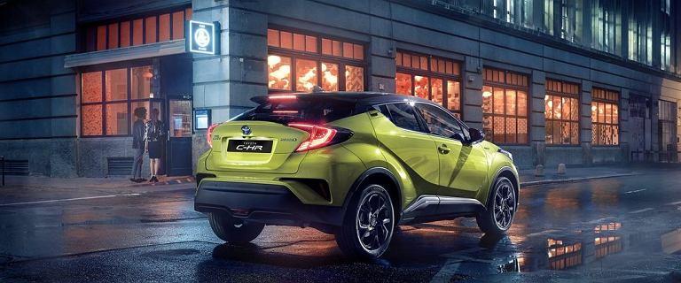Ten futurystyczny crossover robi wrażenie. Toyota C-HR ze sporym rabatem