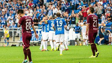 Lech Poznań - FK Sarajevo 1:0 w II rundzie eliminacji Ligi Mistrzów.