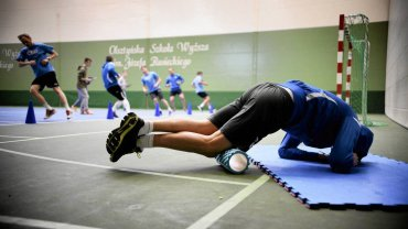 Badania wydolnościowe piłkarzy Stomilu Olsztyn