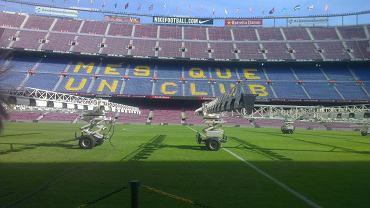Camp Nou. Wszystkie zdjęcia wykonane HTC One X.