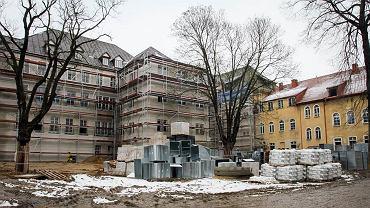 Luty 2021 r. Budowa Centrum Edukacji Zawodowej i Biznesu przy ul. Warszawskiej w Gorzowie