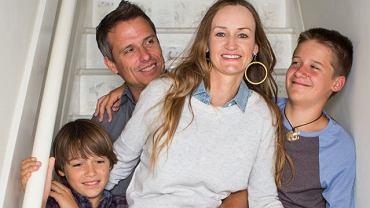 Bea Johnson z rodziną