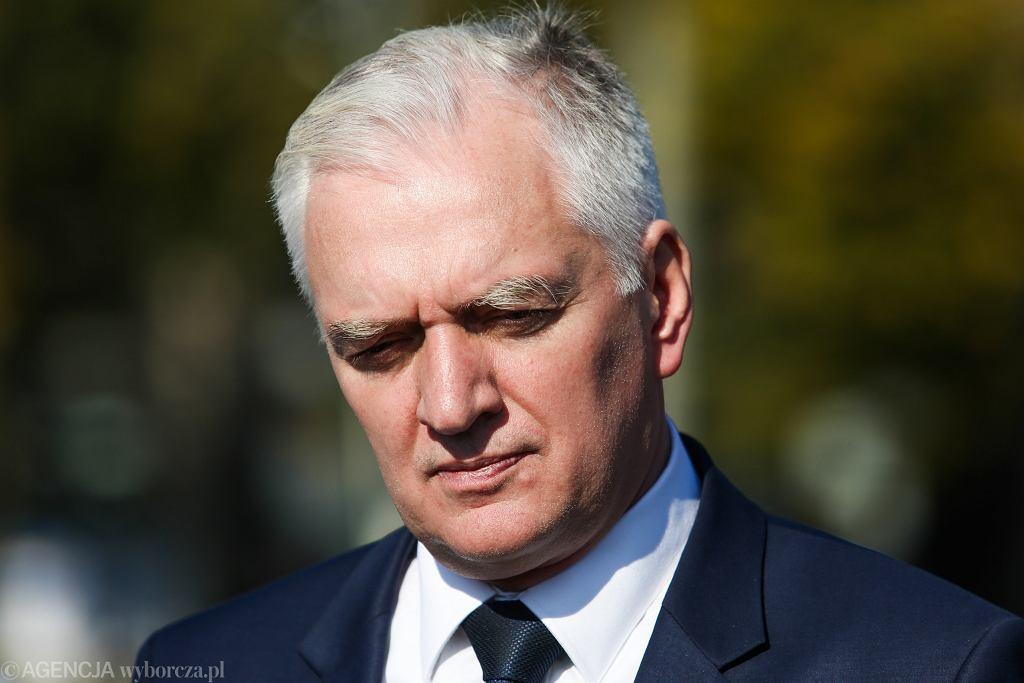 Wicepremier Jarosław Gowin.