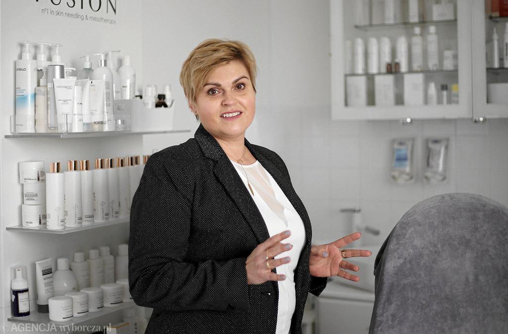 Kosmetolog Agnieszka Sadziak