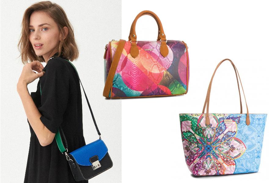 kolorowe torebki we wzory