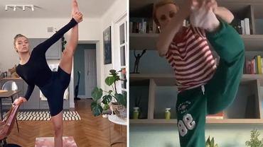 Julia Wieniawa rzuciła na Instagramie wyzwanie. Podjęła je Kasia Zielińska
