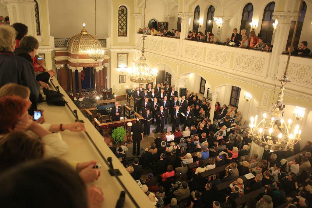 Uroczyste otwarcie Festiwalu Singera Koncert Kantorów Synagoga Nożyków