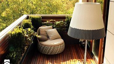 Balkon wśród zieleni - jak o niego dbać?