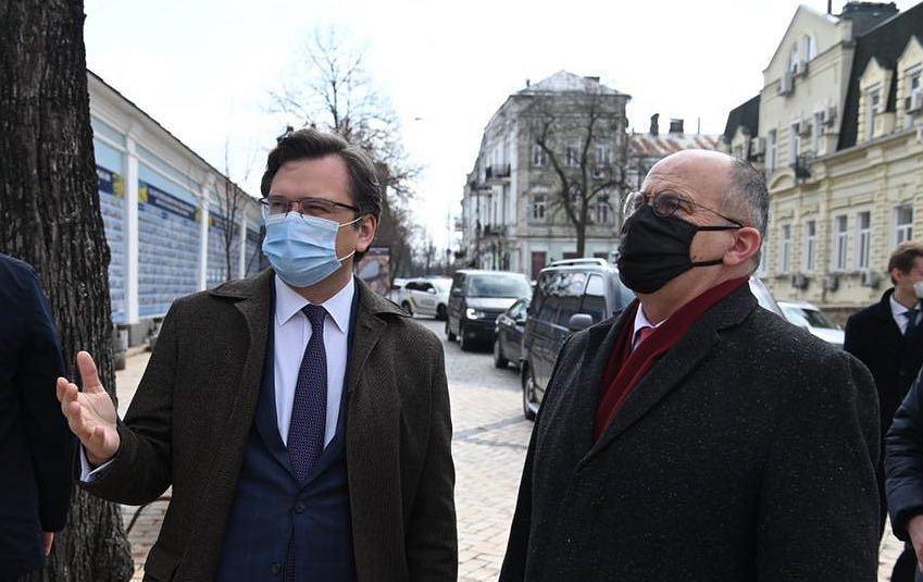 Pilna wizyta polskich dyplomatów w związku z eskalacją w Donbasie