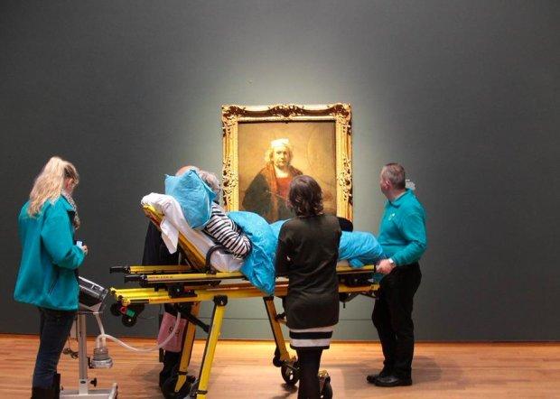 Obraz Rembrandta Aktualne Wydarzenia Z Kraju I Zagranicy