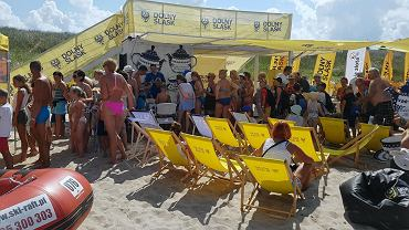 'Projekt Plaża' - akcja Urzędu Marszałkowskiego Województwa Dolnośląskiego promująca Dolny Śląsk na polskich plażach