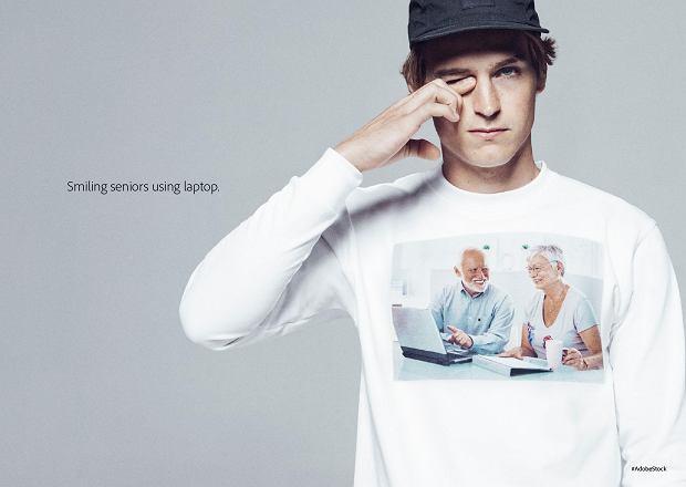 Stockowe zdjęcia na koszulkach