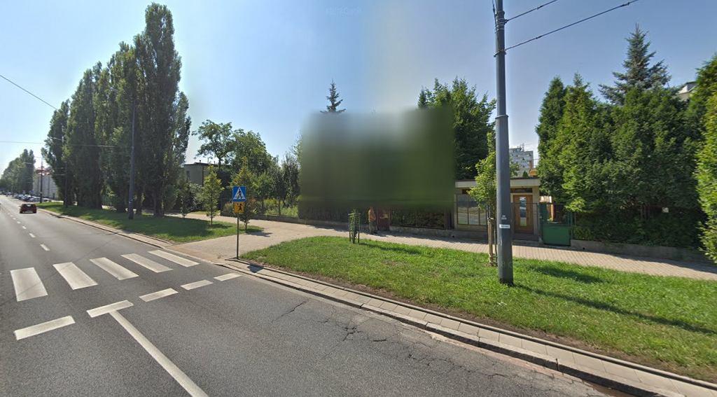 Zakrycie domu Jarosława Kaczyńskiego w Google Street View