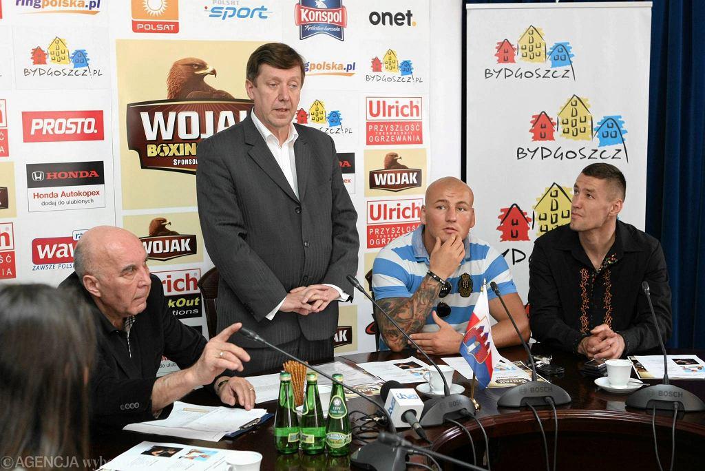Piotr Werner, Jan Szopiński, Artur Szpilka i Paweł Kołodziej