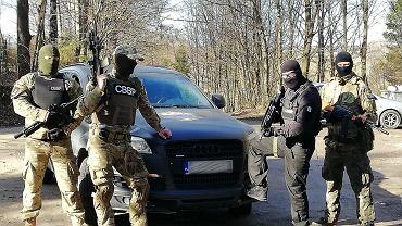 Pracownicy Centralnego Biura Bezpieczeństwa Personalnego z Gdyni