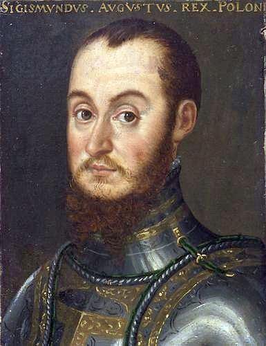 Portret króla Zygmunta Augusta w zbroi z lat 50. XVI w.