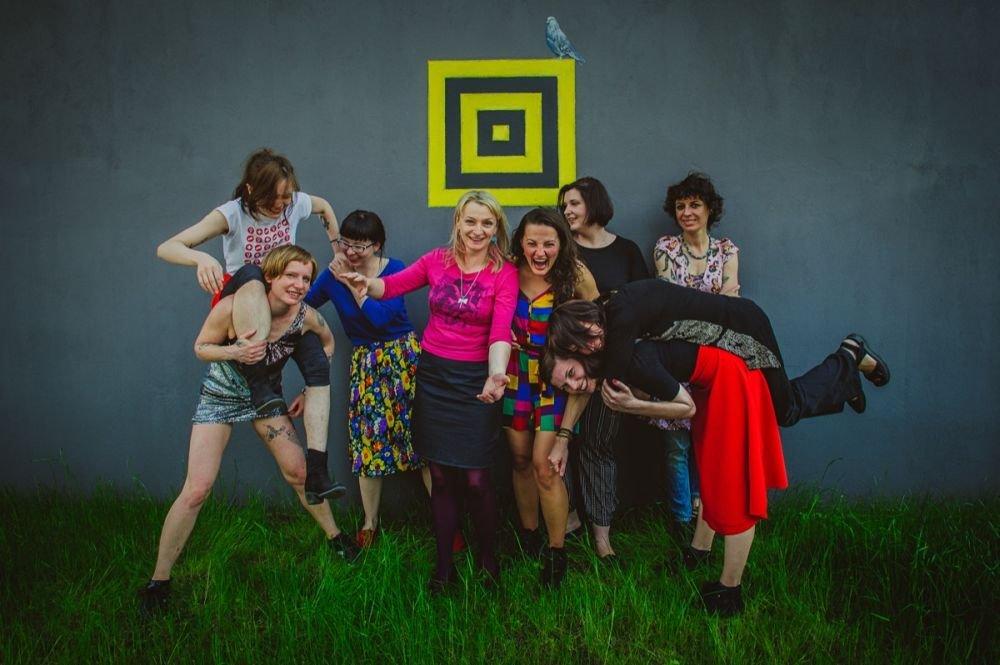 Organizatorki i nauczycielki z zespołu Lucciola Ladies Rock Camp