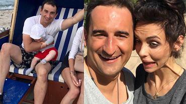 Misiek Koterski publikuje w sieci wakacyjne zdjęcia z Marcelą. Chyba jej się nie spodobały.