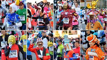 Maratończycy w Tokio