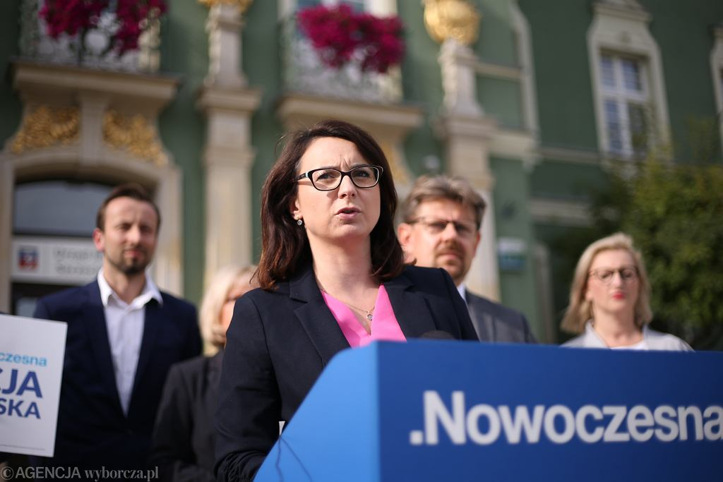 Wybory samorządowe 2018 w Szczecinie. Kamila Gasiuk-Pihowicz (Nowoczesna) mówiła o wadze zbliżających się wyborów