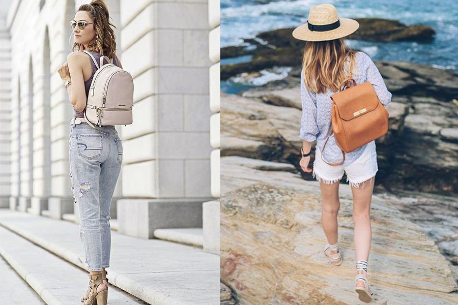 Klasyczny plecak damski