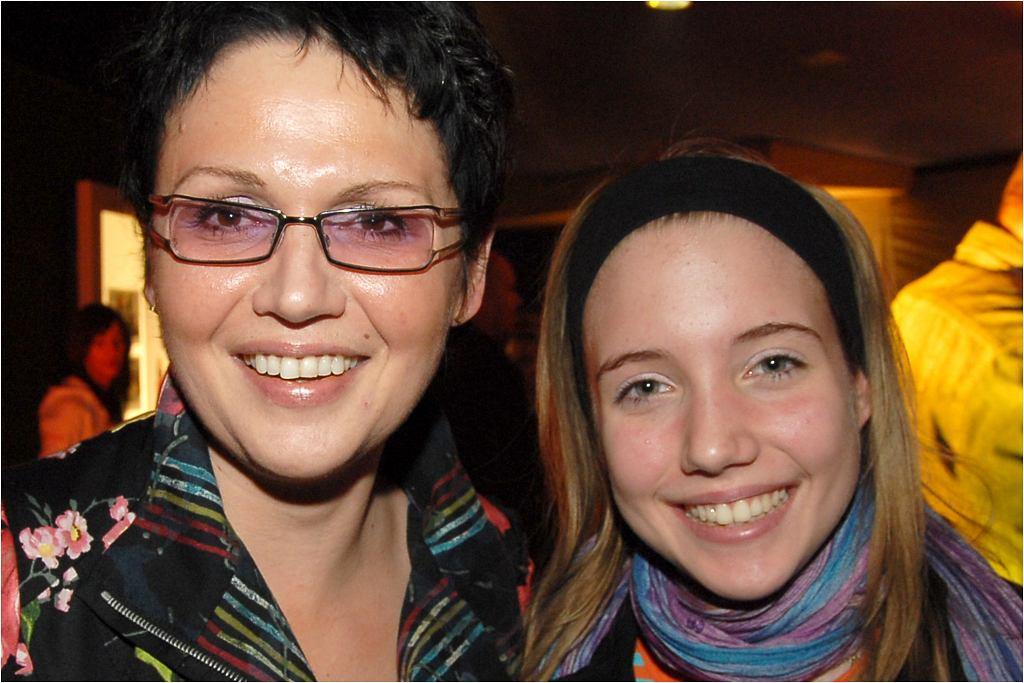 Małgorzata Pieńkowska i jej córka Ina Sobala
