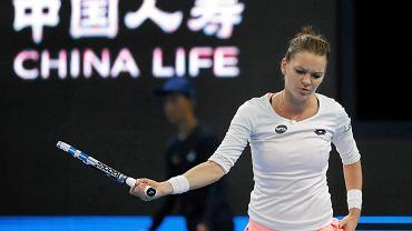 Agnieszka Radwańska w finale w Pekinie
